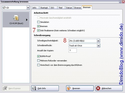 Service Pack 3 in Windows XP System-CD integrieren - Bild 9