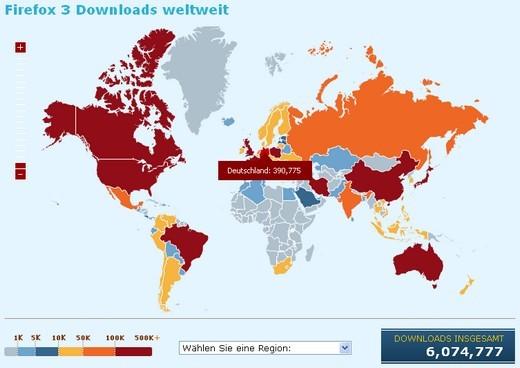 Grafik - Zwischenbilanz Download Day