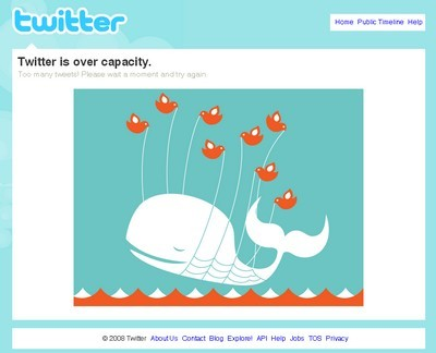 Screenshot - Twitter down