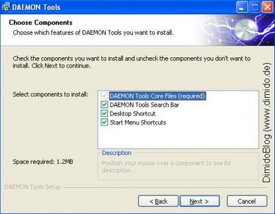 Screenshot - Daemon Tools Lite - Installation