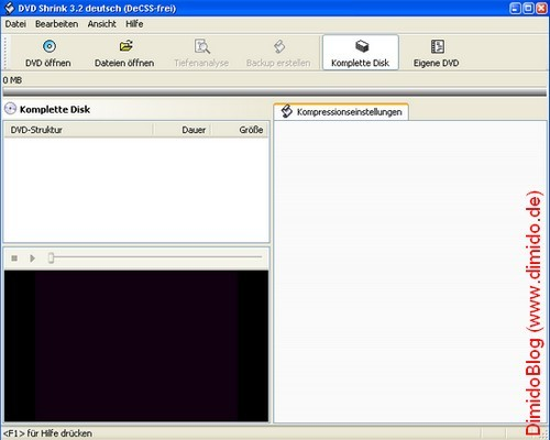 DVD SHRINK 3.2 DA SCARICA