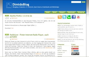 Screenshot DimdoBlog