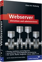 Buchcover - Webserver einrichten und andministrieren