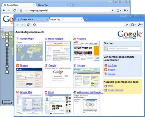 Google Chrome 2.0
