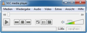 VLC media player 1.0.2