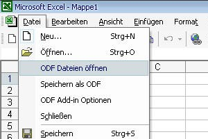 Addin in Aktion unter Microsoft Office