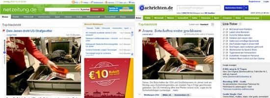 Netzeitung.de und Nachichten.de