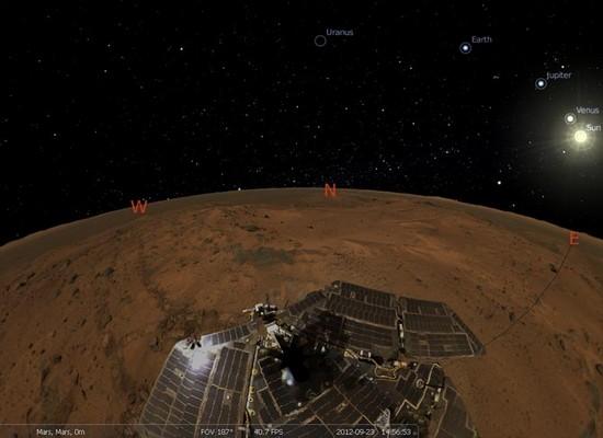 Stellarium, ein Interaktives Planetarium