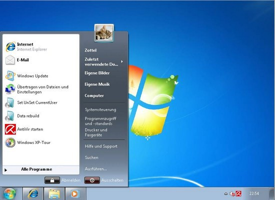 how to make windows 7 look like xp no downloads