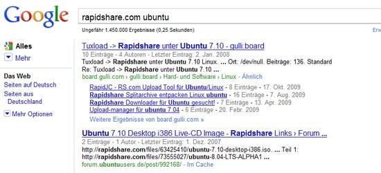 Google Suche / Google Search