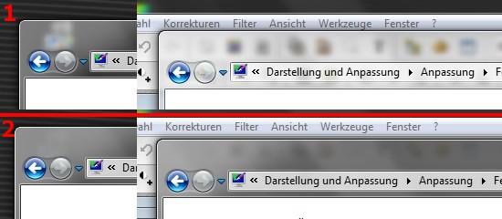 Windows 7 Aero abschalten