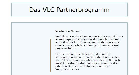 Partnerprogramme für Open Source und Freeware