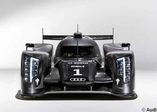 Audi R18 - Neues Batmobil von Audi für Le Mans