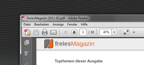 Adobe Reader X Lite – Kleinere Ausgabe vom Adobe PDF Reader X