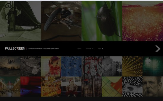 WordPress Themes, Templates - Fullscreen