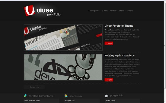 WordPress Themes, Templates - Vivee Portfolio
