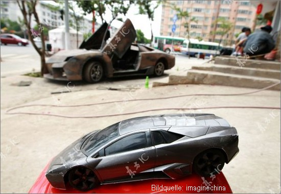 China Kopie: Lamborghini Reventon Replica