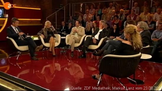 ZDF, Markus Lanz, Jürgen Fliege und das Niedrigwasser-Fernsehen