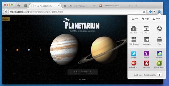 Firefox: Vorgeschmack auf neue Firefox-Designs