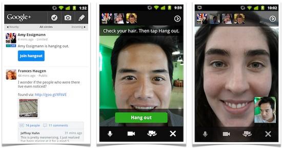 Hangouts auf Google+ - Google+ ist jetzt offen für alle