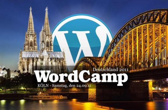 Heute live vor Ort: WordCamp 2011 in Köln
