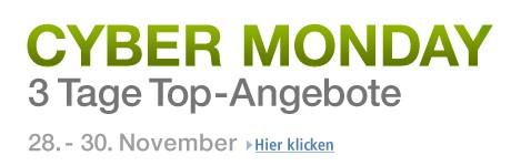 Amazon Cyber Monday – Angebote und Sonderangebote auf Amazon