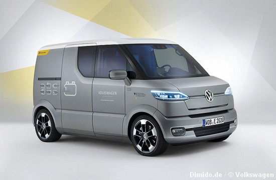 VW eT – Volkswagen baut das Postauto der Zukunft