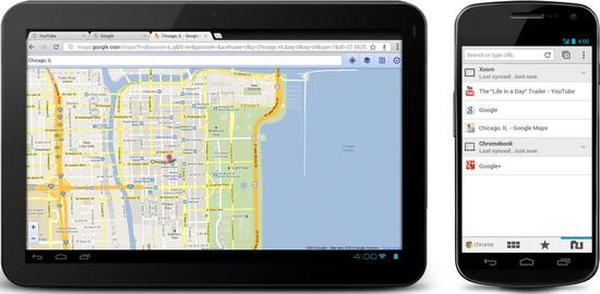 Chrome Browser für Android offiziell vorgestellt