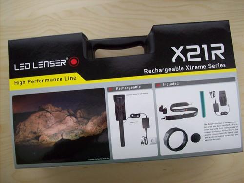 LED LENSER X21R – Lass im Dunkeln die Sonne aufgehen