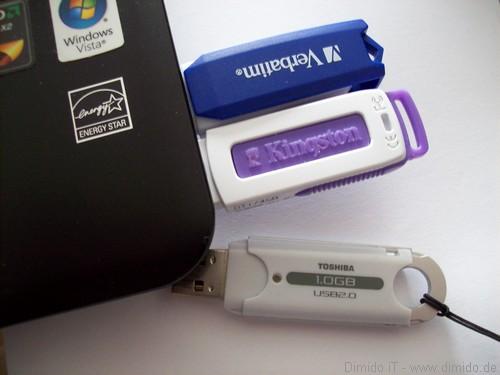 USB-Sticks und Speicherkarten werden teurer, dank neuer Urheberabgaben