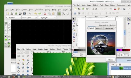 OpenSuse für Studierende, Schüler und Lehrer - Cinnamon Desktop