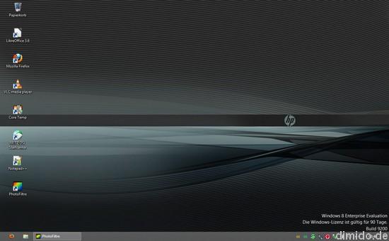 Windows 8 kostenlos downloaden, testen und ausprobieren - Desktop