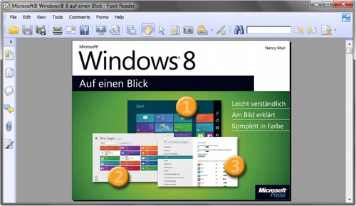 Kostenloses Handbuch zu Microsoft Windows 8
