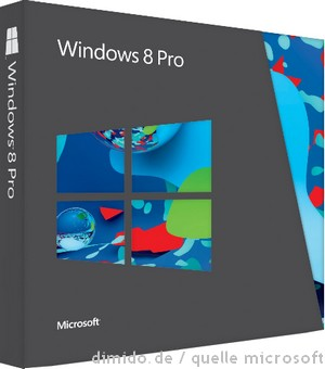 Amazon Angebot: Windows 8 Pro Upgrade für 35 Euro