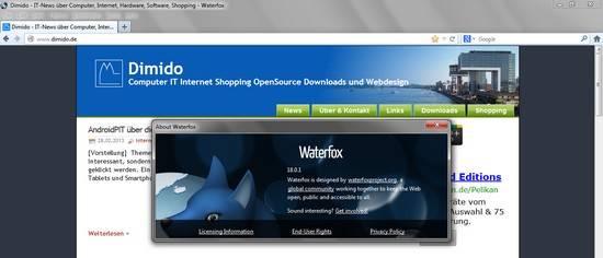 Statt Firefox: 64-Bit-Browser Waterfox nutzen