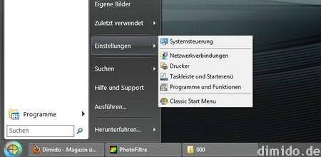 Windows 8.1 wieder mit Startbutton