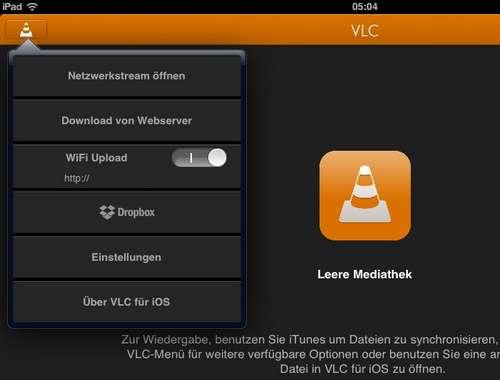 Dropbox-Anbindung und Bluetooth-Headsets-Unterstürzung