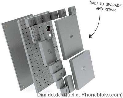 Phonebloks: Ein Smartphone aus dem Baukasten