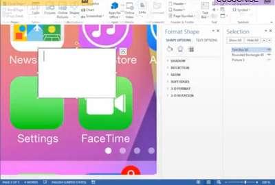 Wurde iOS 7 in Microsoft Word erstellt?