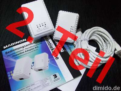 PowerLAN: Maginon Powerline Adapter-Kit – PL-500 und PL-500W - 2. TEIL