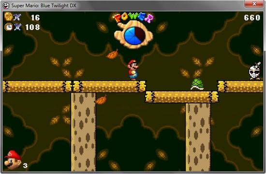 Download - Super Mario Blue Twilight DX